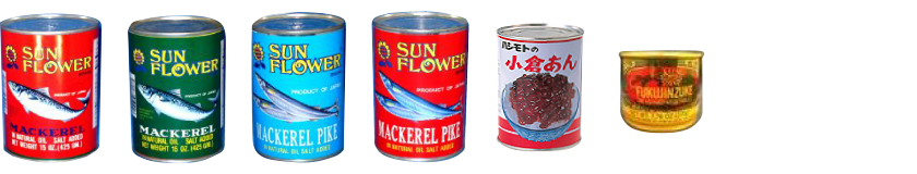 かんづめ CANNED FOODS