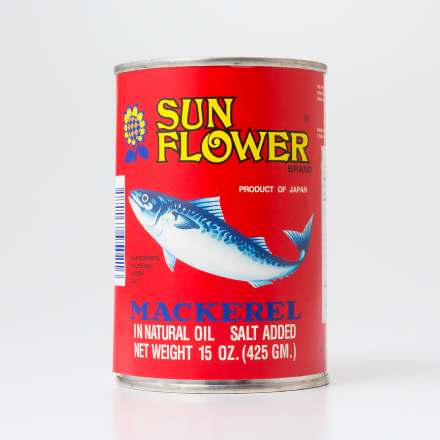 MACKEREL IN NATURAL OIL(SUNFLOWER RED)
